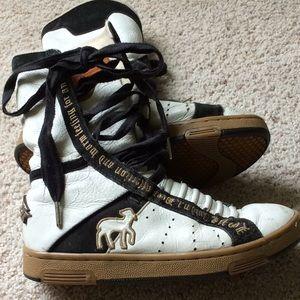 Gwen Stafani L.A.M.B. High Top sneakers. Size 7.5.